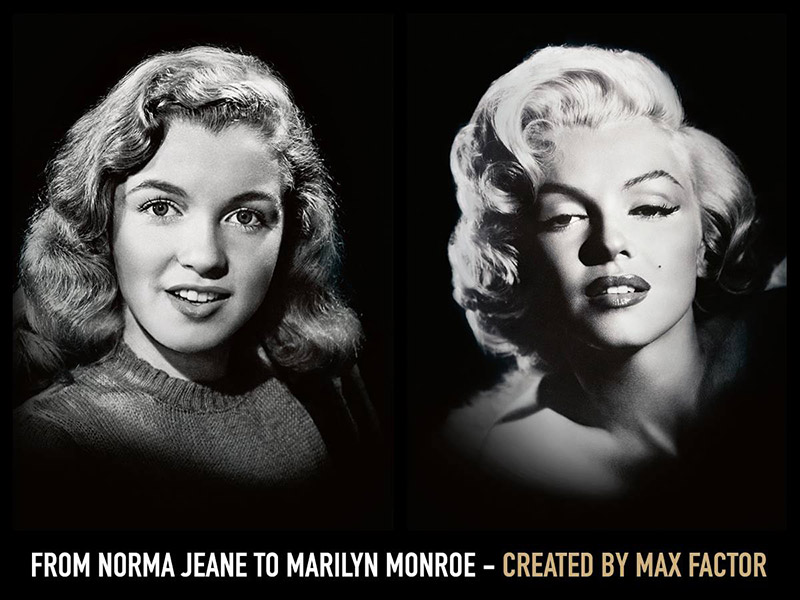 Marilyn Monroe Named New Face of Max Factor
