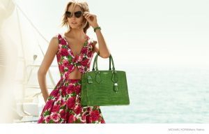 Karmen Pedaru Goes Yachting for Michael Kors'  Spring 2015 Campaign