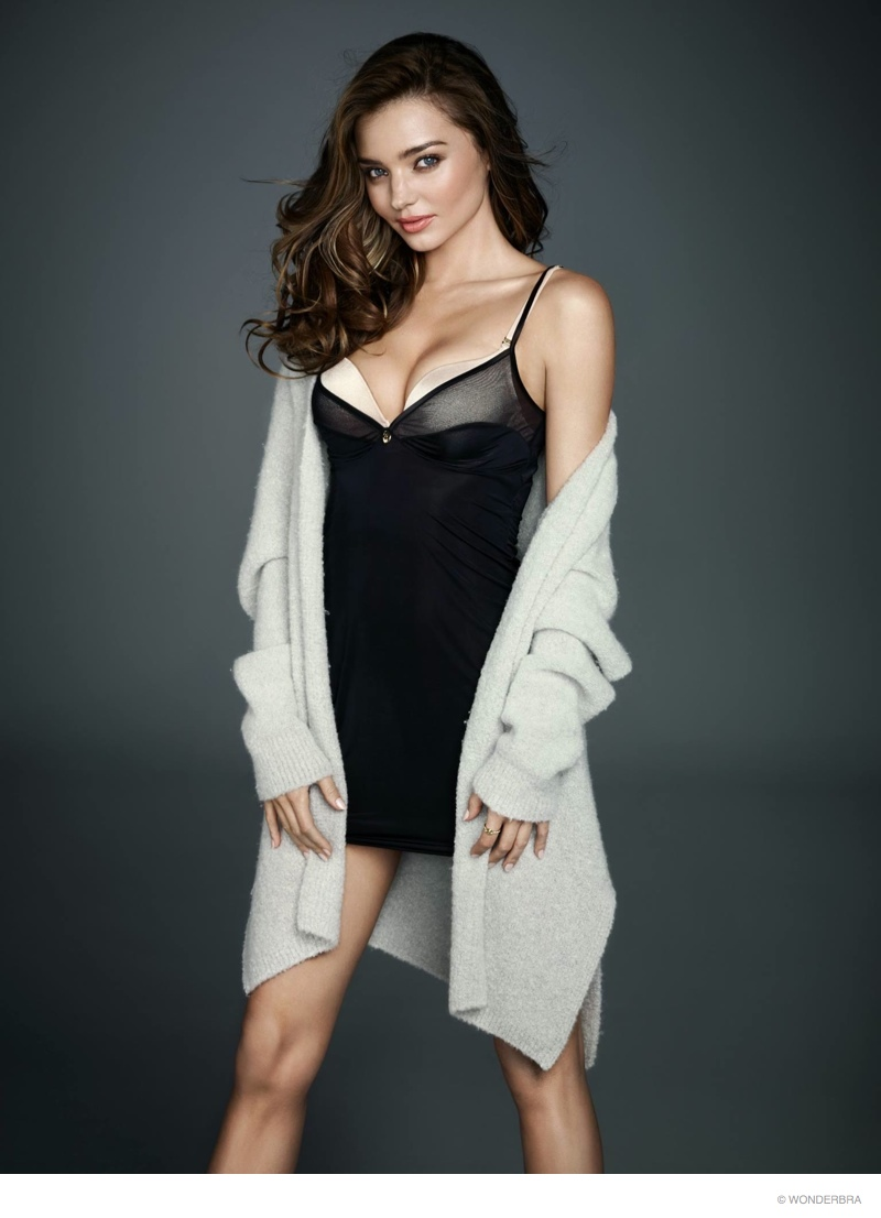 Miranda Kerr S Best Style Looks Ever: Miranda Kerr Flaunts Figure In New Wonderbra Photos
