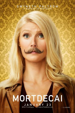 Mortdecai Trailer + Character Posters with Gwyneth Paltrow, Olivia Munn
