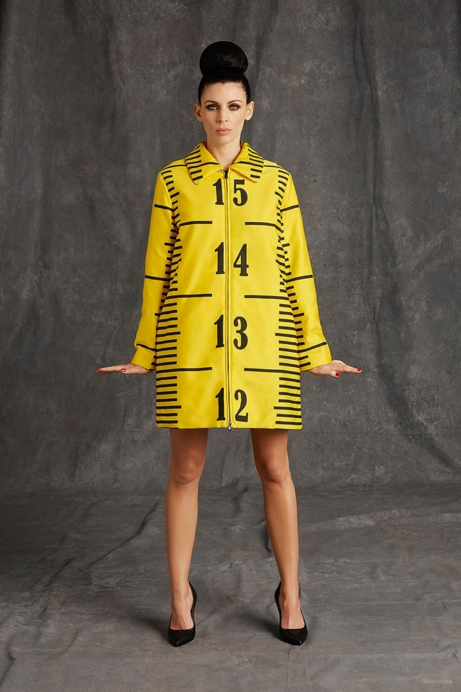 Moschino Shows Unfinished Fashion for Pre-Fall 2015