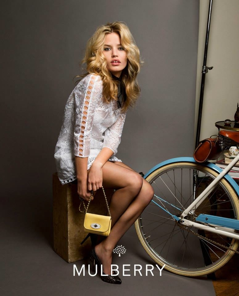 Georgia May Jagger Goes Boho for Mulberry Spring 2015 Campaign