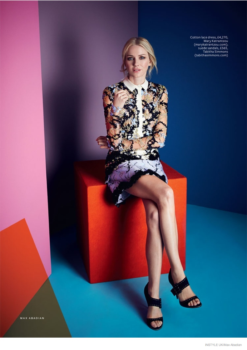 Naomi Watts Poses for InStyle UK & Talks Renee Zellweger Backlash