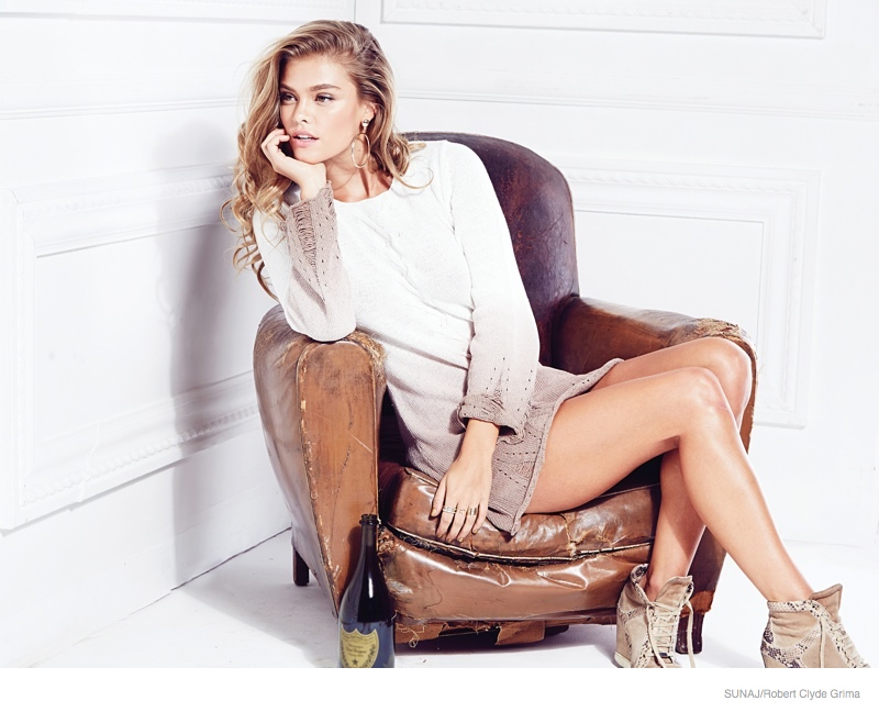 Nina Agdal - SUNAJ Spring 2015