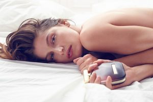 Laetitia Casta Poses in Bed for Nina Ricci 'L'Extase' Fragrance Ad