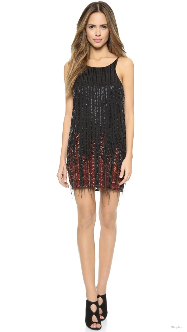 Parker 'Monaco' Beaded Dress available at Shopbop for $247.50