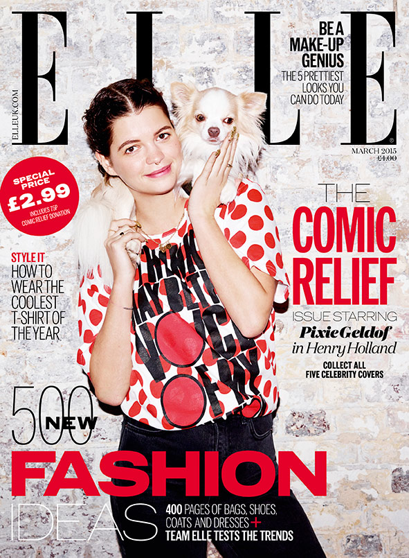pixie-geldof-elle-red-nose-day-cover-2015
