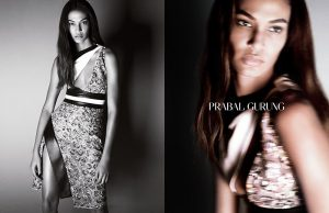 Joan Smalls Broods for Prabal Gurung Spring 2015 Ads