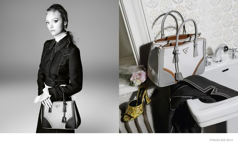 88d274504152 See All the Photos From Prada s Spring 2015 Ads with Gemma Ward + More