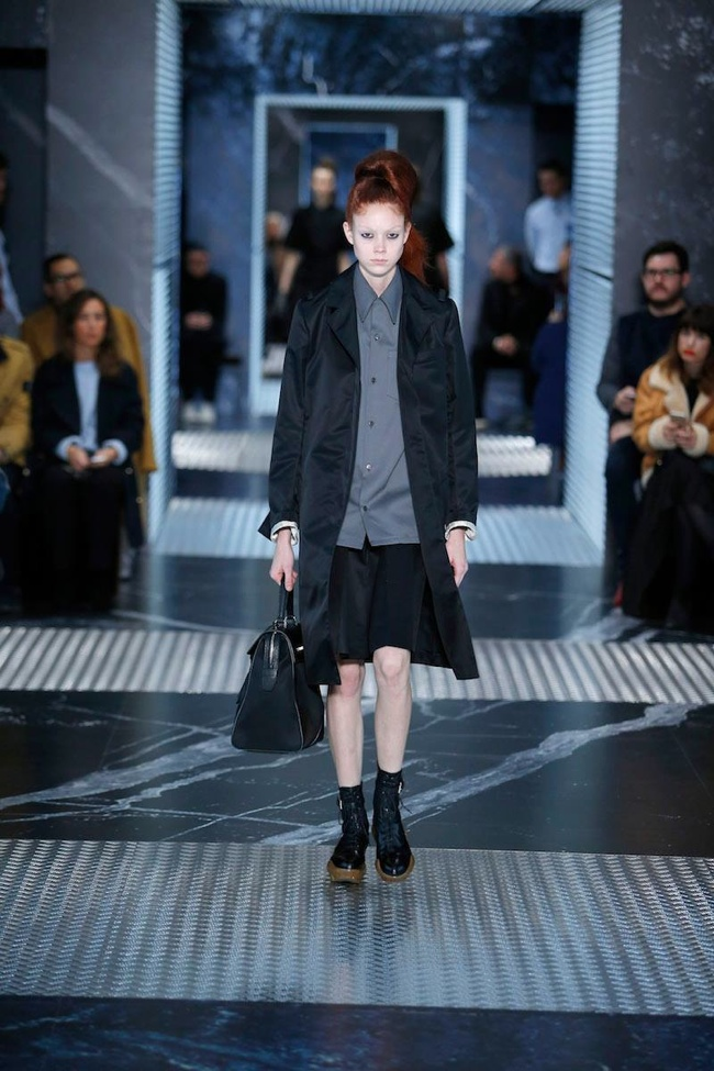 Prada Goes Androgynous for Pre-Fall 2015 Collection