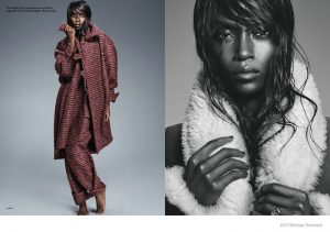 Riley Montana Models Outerwear Style for Exit Magazine
