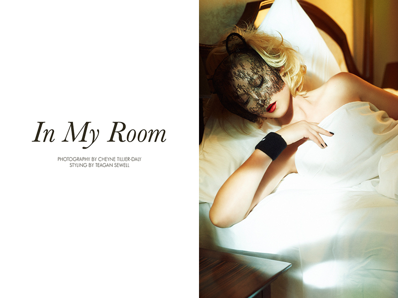 "FGR Exclusive | Amy Finlayson by Cheyne Tillier-Daly in ""In My Room"""