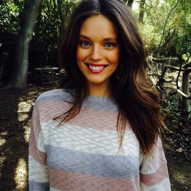 Emily DiDonato flashes a smile