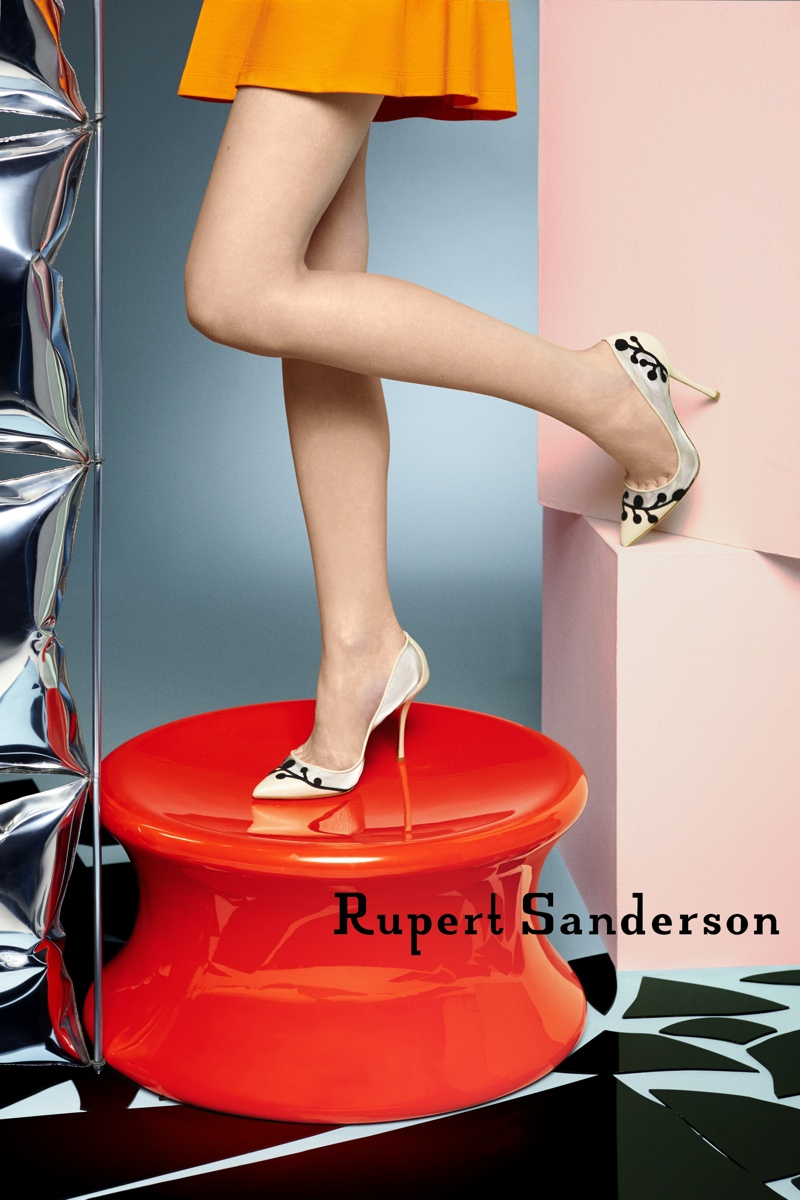 Rupert Sanderson Steps Out with Spring 2015 Campaign