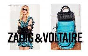 Sasha Pivovarova is Rock Glam in Zadig & Voltaire Spring '15 Ads