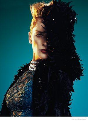 Sharon Stone Stars in L'Officiel Australia Cover Shoot, Talks Return to Spotlight