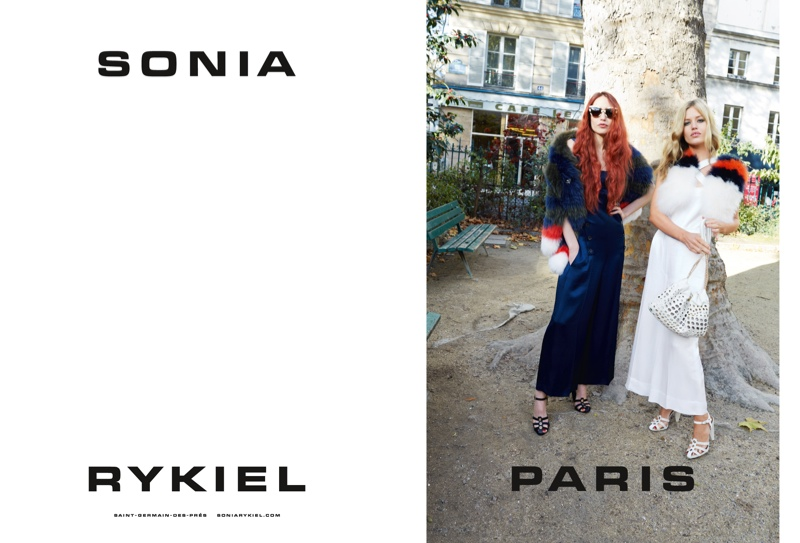 Sister Act! Georgia May & Lizzy Jagger Pose for Sonia Rykiel Spring 2015 Ads