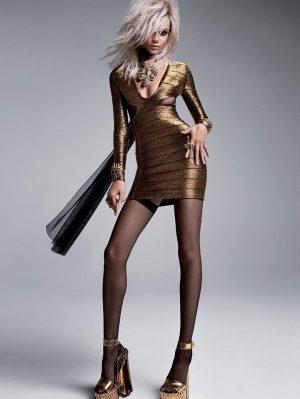 Daphne Groeneveld, Binx Walton Go Glam Rock for Tom Ford's Spring 2015 Campaign