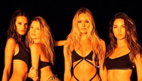 Alessandra Ambrosio, Behati Prinsloo, Candice Swanepoel and Lily Aldridge