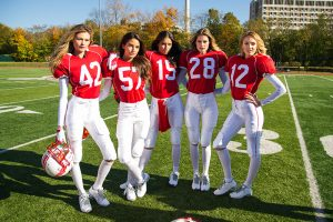 Watch: Victoria's Secret Models Play Football in Super Bowl Promo