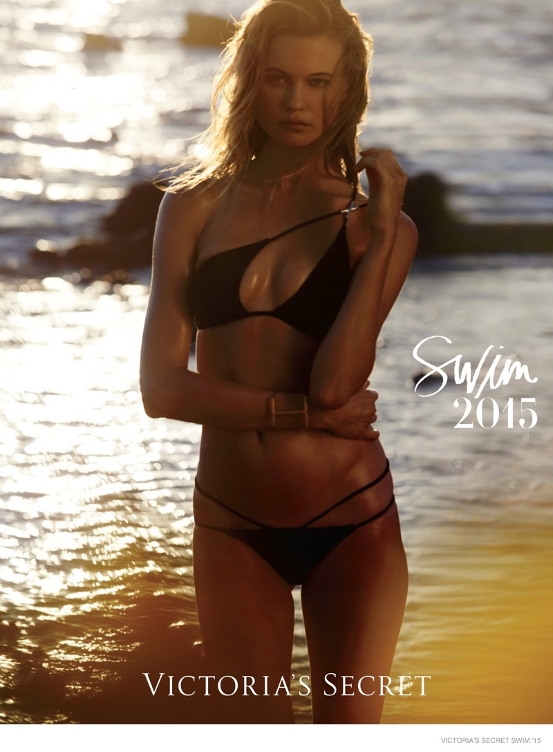 Behati Prinsloo Takes the Victoria's Secret 2015 Swim Cover + More Photos!