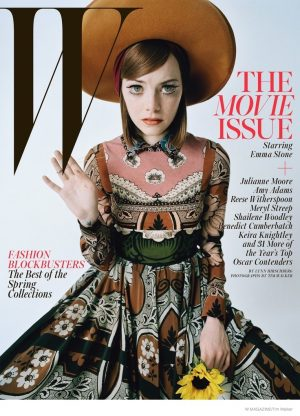 W Magazine Features Acting's Brightest Stars for February 2015 Covers