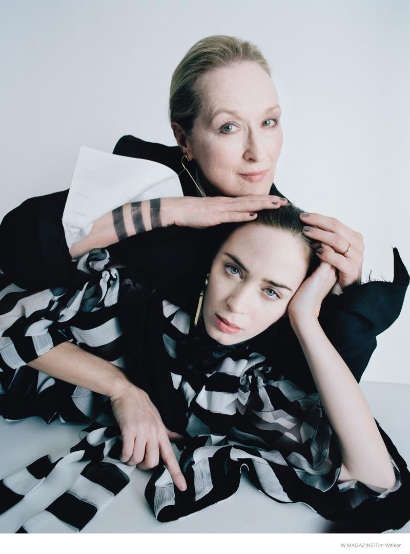 Meryl Streep & Emily Blunt