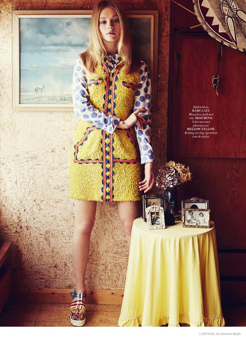 Playful 70s Style: Zanna van Vorstenbosch Poses for L ...