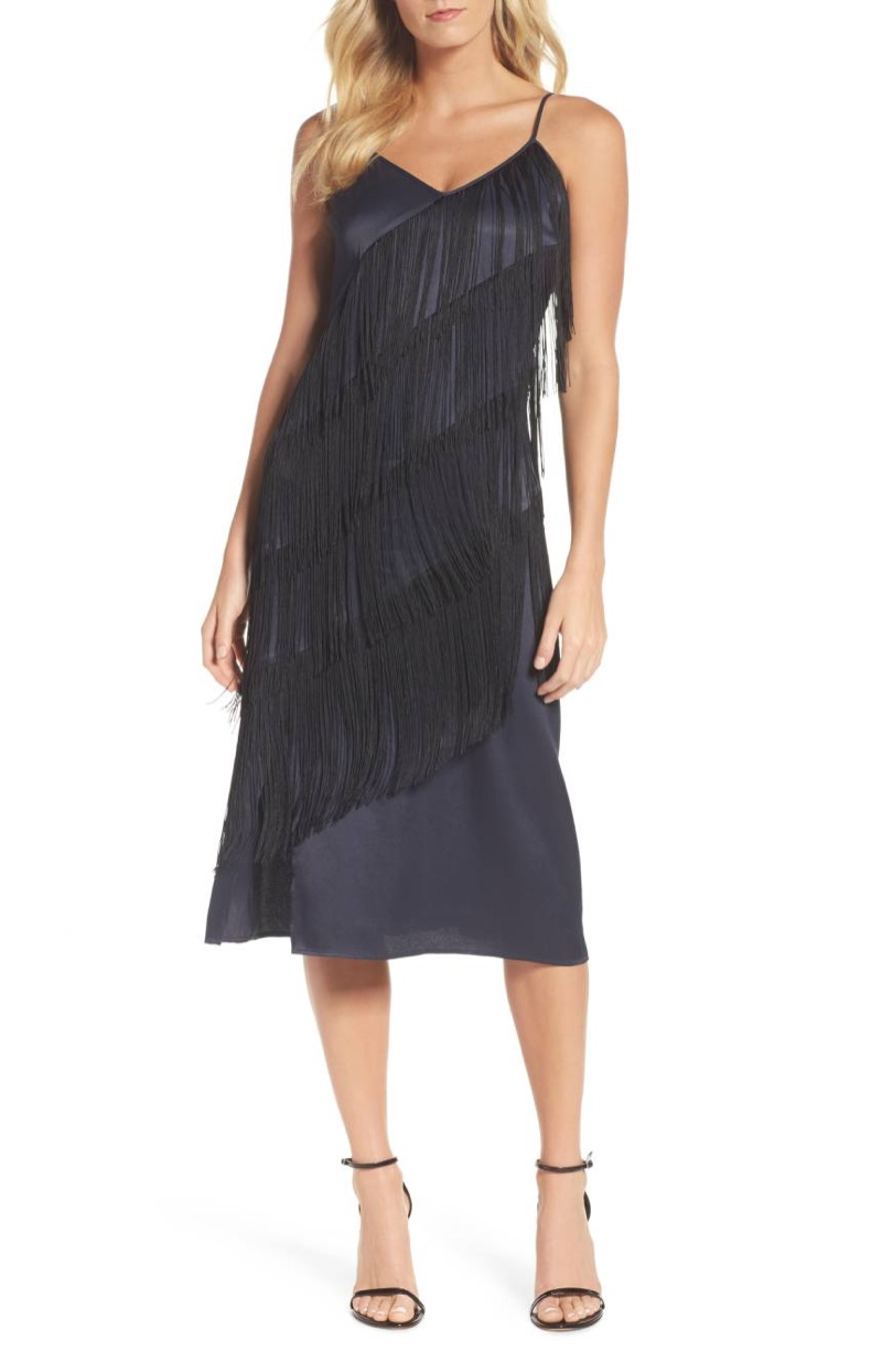 NIC+ZOE Fringed Up Midi Dress $228