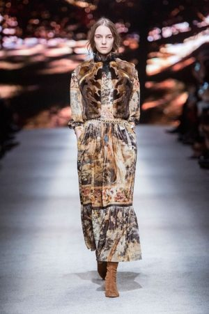 Alberta Ferretti Delivers Fairytale Fashion for Fall 2015
