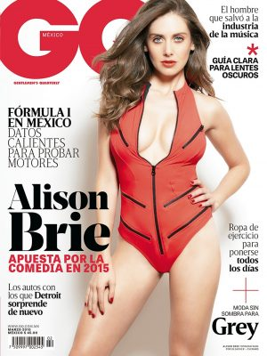 'Community' Star Alison Brie Heats Up GQ Mexico Cover