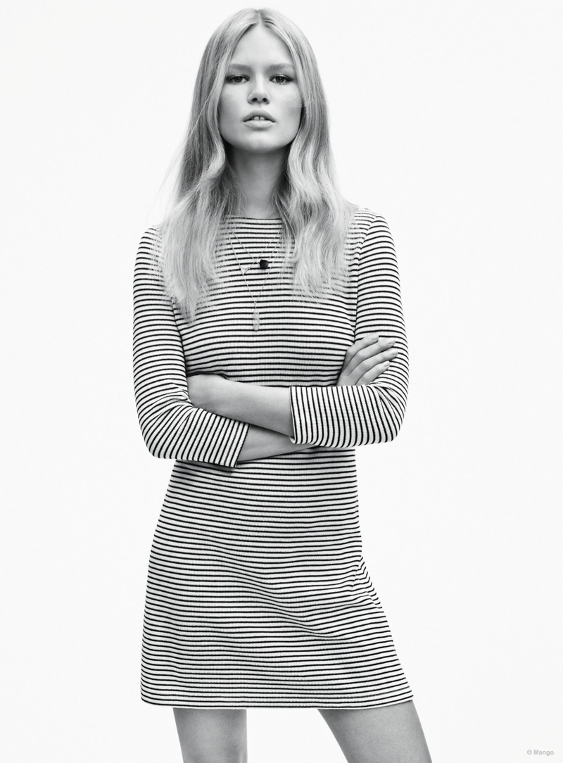 Anna Ewers By Karl Lagerfeld For: Anna Ewers In Spring 2015 Ad Campaign For Mango: Photos