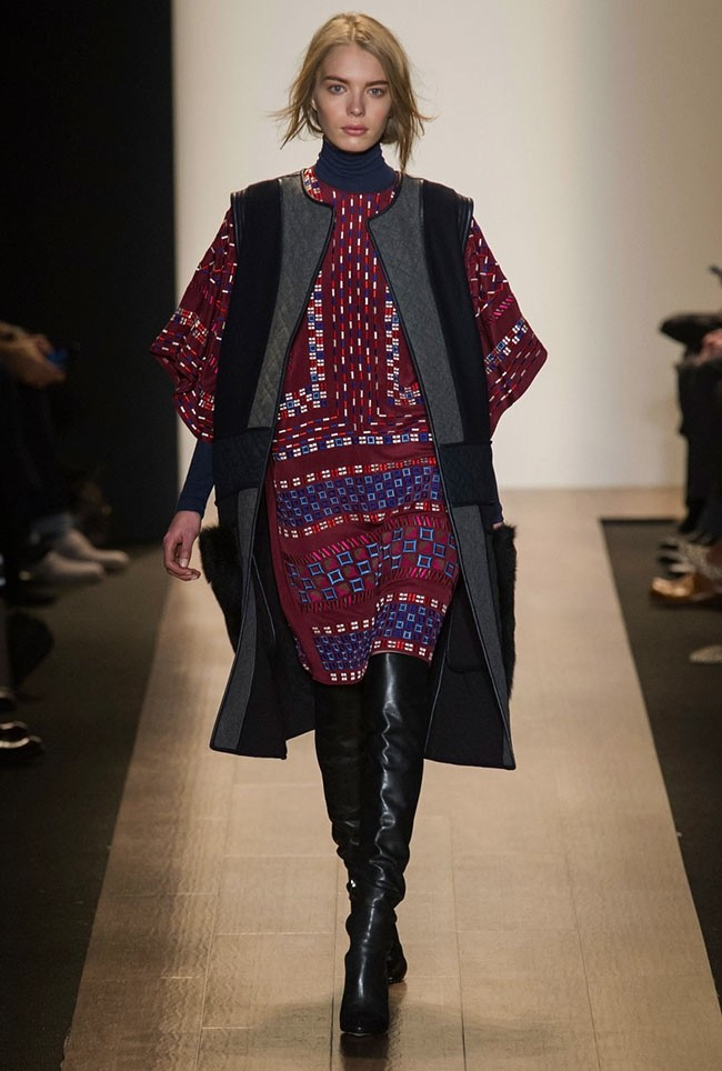 New York Fashion Week Fall 2015 Trends 70s Goth Style