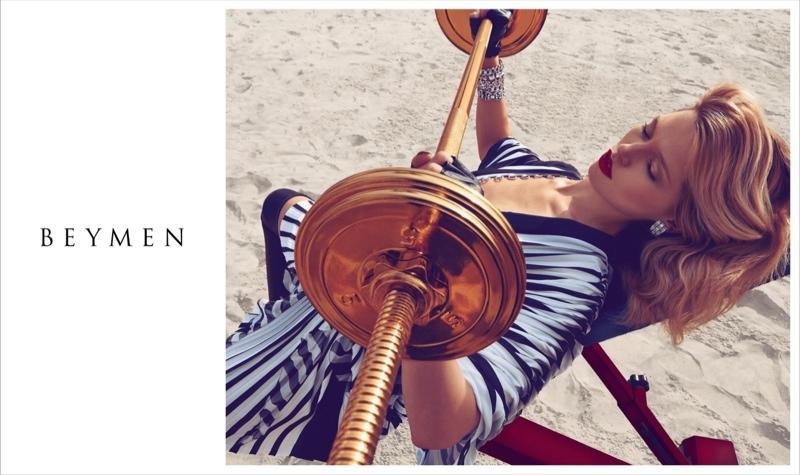Hana Jirickova  for Beymen Spring 2015 Campaign