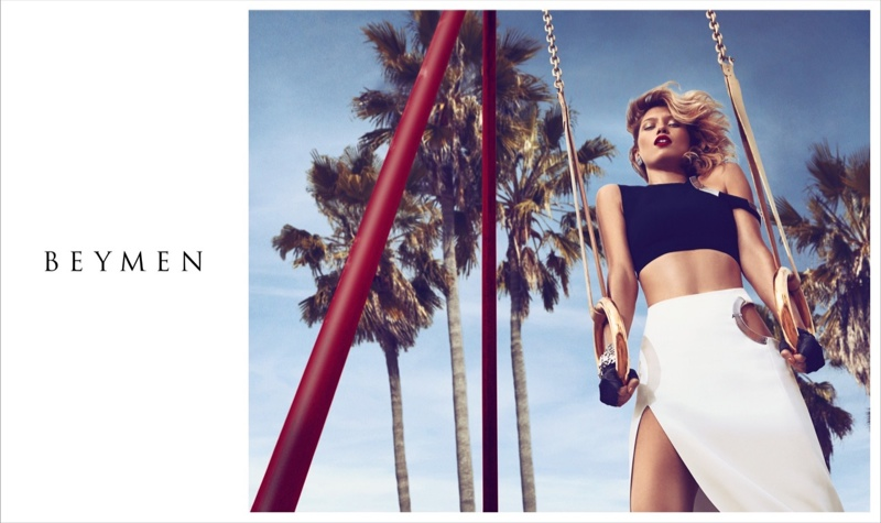 Hana Jirickova Gets Sports Luxe in Beymen Spring 2015 Campaign