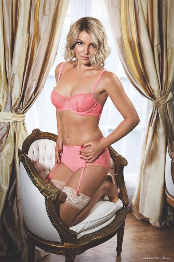Britney Spears Flaunts Figure in 'Intimate' Lingerie + Swimsuit Collection