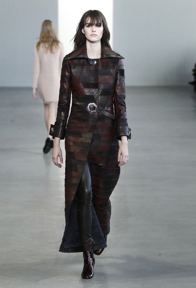 Calvin Klein Collection Channels Modern 70s for Fall 2015