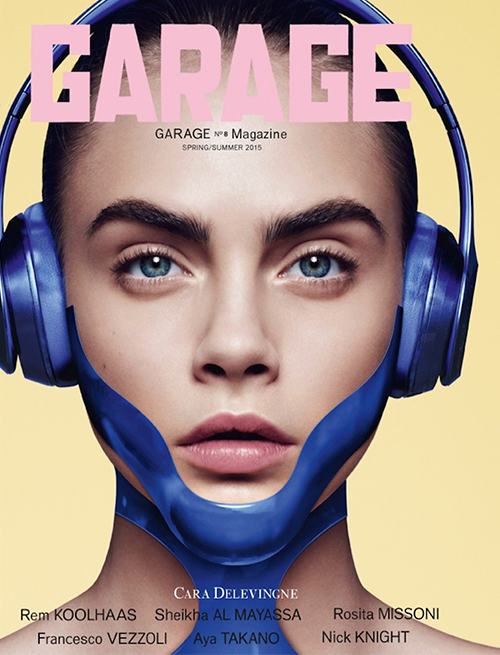 Kendall jenner cara delevinge are tech chic for garage for Garage ad le touvet