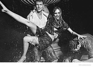 Cara Delevingne Wears Fun, Denim Style in Pepe Jeans Spring '15 Ads