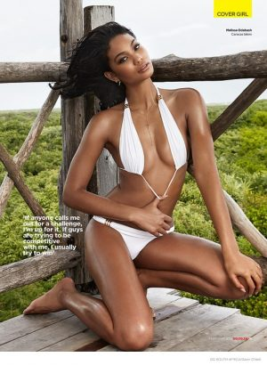 More Sexy Photos of Chanel Iman in GQ South Africa by Gavin O'Neill
