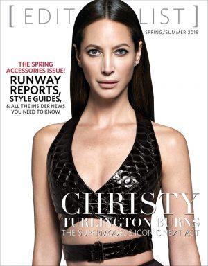 Christy Turlington Wears Sexy Bra Top on Editorialist Cover