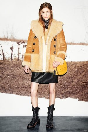 Coach Does Chic & Cozy Coats for Fall 2015
