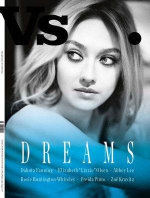 Vs. Magazine Taps Dakota Fanning, Rosie Huntington-Whiteley + More for S/S 2015 Covers