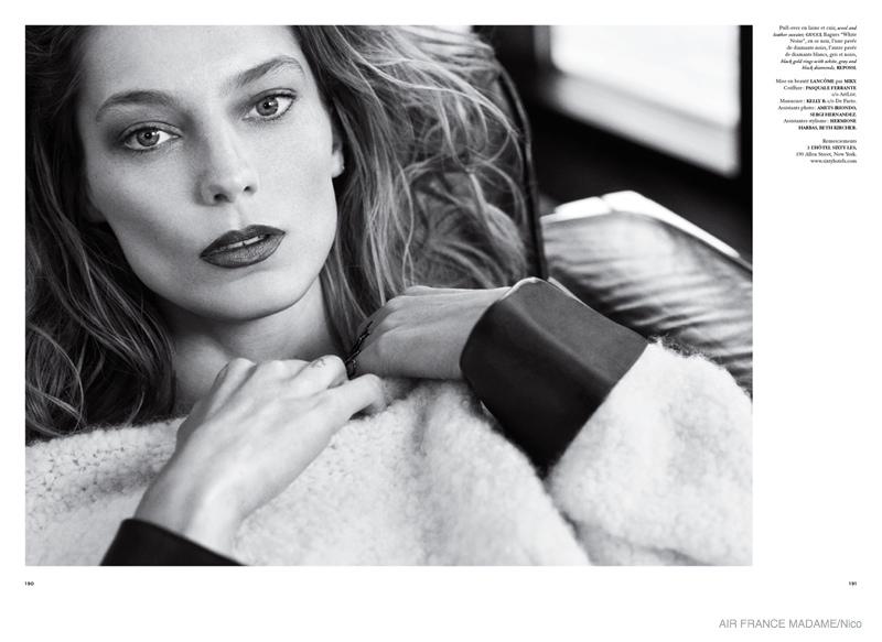 Daria Werbowy Celine 2015