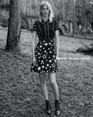 Julia Nobis is a Cool Kid in Diesel Black Gold's Spring 2015 Campaign