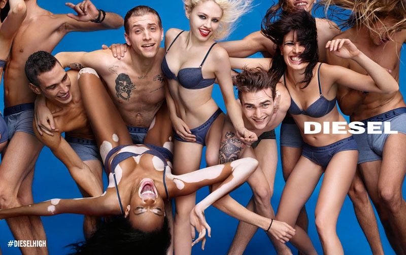 Diesel Gets Happy for Its Spring 2015 Campaign