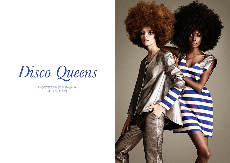 "FGR Exclusive | Madisin + Ira by Matallana in ""Disco Queens"""