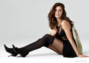 Emily DiDonato Does Casual Cool Style for Calzedonia Spring '15 Ads