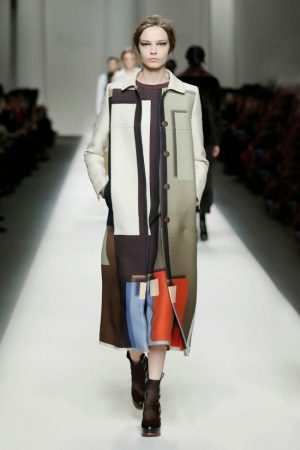 Fendi Gets Geometric for Fall 2015
