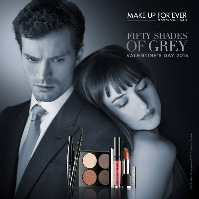 New Arrivals: 'Fifty Shades of Grey' x Make Up Forever Collection